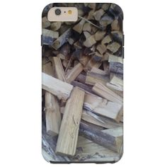 A photo of some Firewood You can also customize it to get a more personal look.