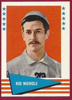 1961 Fleer Kid Nichols Set Break #129 Ex/NM+ Boston Red Sox | Sports Mem, Cards & Fan Shop, Sports Trading Cards, Baseball Cards | eBay!