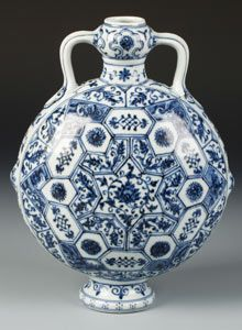 Ming vase is thought to be worth more than £1m. Photograph: Dukes