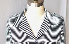 """Sideways Stripe"" by Sarah Donofrio on Exposure Blouses, Posts, Blog, Women, Fashion, Moda, Messages, Women's, La Mode"