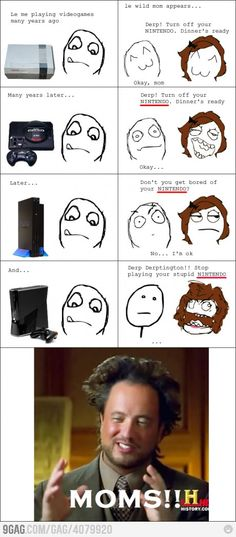 Moms and Videogames