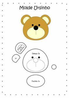 Urso chaveiro