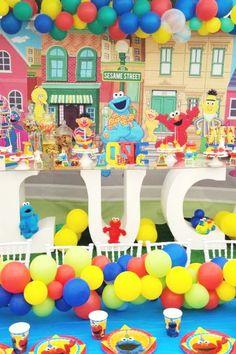 Sesame Die Cuts Sesame Centerpiece Tilly Theme Party Sesame Party Theme 12-20 inches Tilly Sesame Street Decor