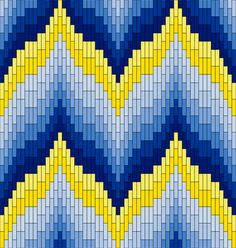 Textile Arts Now: Bargello Patterns
