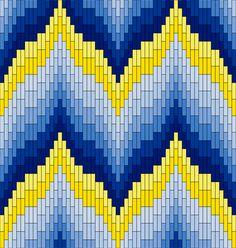 Textile Arts Now: Bargello Patterns