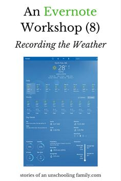Do you write about the weather in your diary? Do you have lots of weather associated stories? And do you record the weather as real life maths?