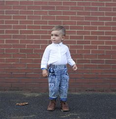 That Hair!  Odin, 2.5, Hackney, London  Shirt / hand me down  Jeans / charity shop  boots / zara