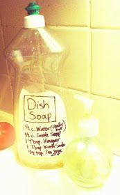 Be Earthwise: Homemade Dish Soap