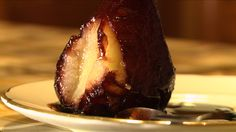 The things you can do to a pear... Braised in a concoction of red wine, cinnamon and orange peel. Teaspoons of pure bliss. Discover how to make them in my UDEMY class.
