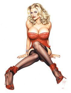 Art Appreciation - Pin-Up Style