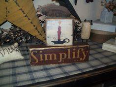 PRIMITIVE BLOCK SIGN~~SIMPLIFY~SHEEP~STAR~~  | eBay