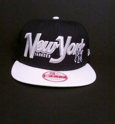 NWT NY Yankees Men's Era 9Fifty Strapback Cap Navy White adjustable. Make an offer, great gift for Yankees fan.