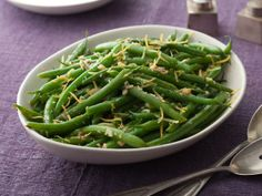 Green Beans With Lemon and Garlic #FNThanksgiving
