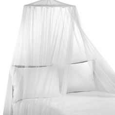 Siam White Bed Canopy - BedBathandBeyond.com Check it out @Trisha Schorr