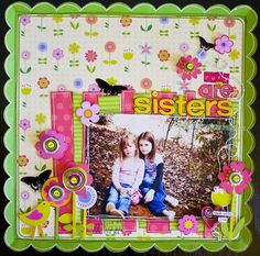 Sisters *My Little Shoebox* - Scrapbook.com  sunday market