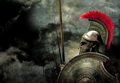 Warrior Of Sparta Greek History, Ancient History, Greek Soldier, Spartan Tattoo, Rome Antique, Spartan Warrior, Greek Warrior, Warrior Spirit, Knight Armor