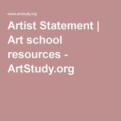 This is from a US site aimed at art students. It has several sample Artist Statements that offer some guidance but, remember, your Statement is a personal missive and there is no magic formula. http://www.artstudy.org/art-and-design-careers/sample-artist-statement.php