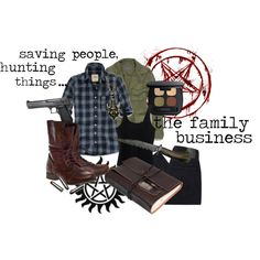 hunter by nicolameow on Polyvore featuring Monki, Madewell, Nobody Denim, Steve Madden, Bare Escentuals, Hollister Co., TV, supernatural, hunter and samwinchester