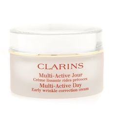 Clarins Multi Active Day Early Wrinkle Correction Cream ( All Skin Types ) - For Sale Check more at http://shipperscentral.com/wp/product/clarins-multi-active-day-early-wrinkle-correction-cream-all-skin-types-for-sale/