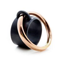 The Saturn Ring by Charlotte Mielko www.charlottemielko.dk