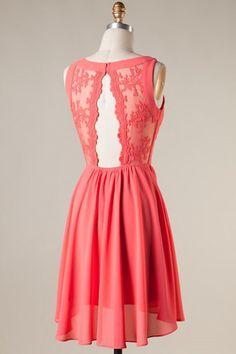Dress - Coral