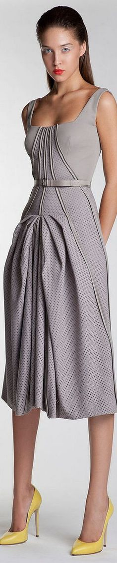 @roressclothes clothing ideas #women fashion gray maxi dress