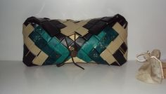 Bag made ​​from recycled materials (plastic shopping bags)