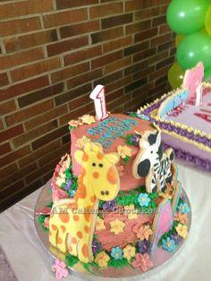 1st Birthday - Safari Theme