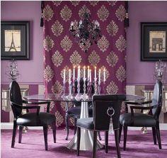 15 Purple Dining Room Ideas