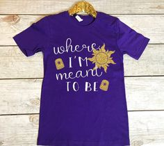 Best Day Ever - Rapunzel Tee - Women's Crew Neck Shirt Disney Themed Outfits, Disney Shirts, Disney Clothes, Vinyl Shirts, Crew Neck Shirt, Best Day Ever, T Shirts For Women, Clothes For Women, Disney Style