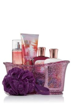 Twilight Woods Splish Splash Gift Set - Signature Collection - Bath & Body Works, my Christmas present to myself!! yay!! It one of the best scents at BBW