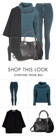 """Outfit #1598"" by lauraandrade98 on Polyvore featuring Topshop, Lowie, Marni, Vince Camuto and Gianvito Rossi"