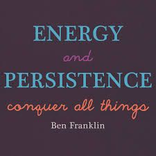 Energy and Persistence