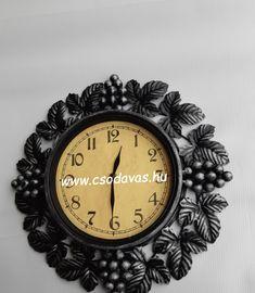 wrought clock