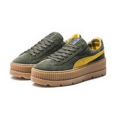 79c2a3849df FENTY Suede Cleated Creeper Women s Rihanna Creepers