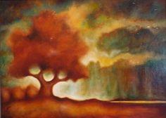 'Stormy Oak' by Caren Satterfield . www.TartagliaFineArt.com
