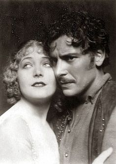 "Vilma Banky and Ronald Colman in ""The Night of Love""(1927)"