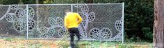 Dutch Company makes Lace Fence Architectural Fabric