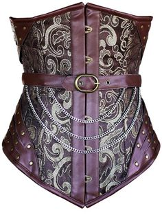 Gorgeous Steam Punk Under-bust Corset, not everyday wear admittedly but still beautiful!