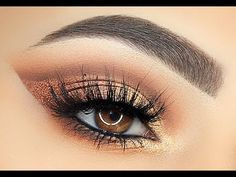 Master Palette By Mario Makeup Tutorial - Sofie Bella - Lets Learn Makeup Gold Makeup, Skin Makeup, Beauty Makeup, Beauty Tips, Eyeshadow Looks, Eyeshadow Makeup, Eyeshadows, Lipsticks, Eyeliner