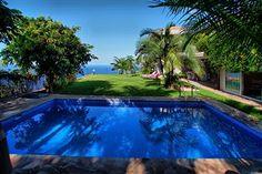 Villa mit Pool und Meerblick in El Sauzal auf #Teneriffa, Kanaren.       4 Schlafzimmer     8 Personen     3 Badezimmer     Wohnfläche: 300 m²     Terrasse: 40 m² Ab 236 Euro/Tag.
