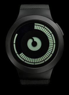814eae51c92 ZIIIRO Saturn in black Dezeen Watch Store