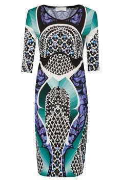 Isabel Printed Jersey Dress By PETER PILOTTO