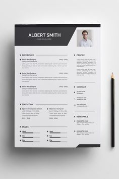 Albert Smith Resume Template