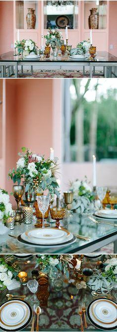 Modern, Desert Opulence in Palm Springs at Sunset Palms Estate | WINK! Weddings | Josh Newton Photography