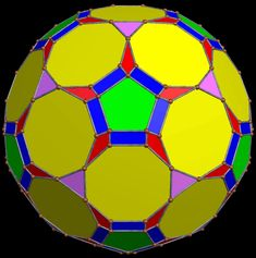 Polyhedron with 182 Faces Featuring Regular Octagons, Pentagons ...