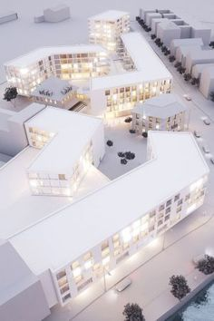 - the global place for architecture students.~~ : Join - the global place for architecture students.~~ - the global place for architecture students.~~ : Join - the global place for architecture students.~~ New High School Campus / Taller Veinti Architecture Model Making, Concept Architecture, School Architecture, Landscape Architecture, Interior Architecture, Commercial Architecture, Architectural Design House Plans, Architectural Models, Arch Model