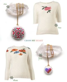 I love graphic designer, Carly Hall-Scott's aesthetic in her blog Simple.Better and asked her to blog about some of her newest favorite pieces... — Joy With handmade crafts everywhere these days, I really love these cross-stitch items. They're a great...