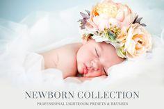 Newborn Baby Lightroom Presets by BeArt-Presets on @creativemarket