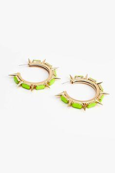 Sunburst Spike Earrings